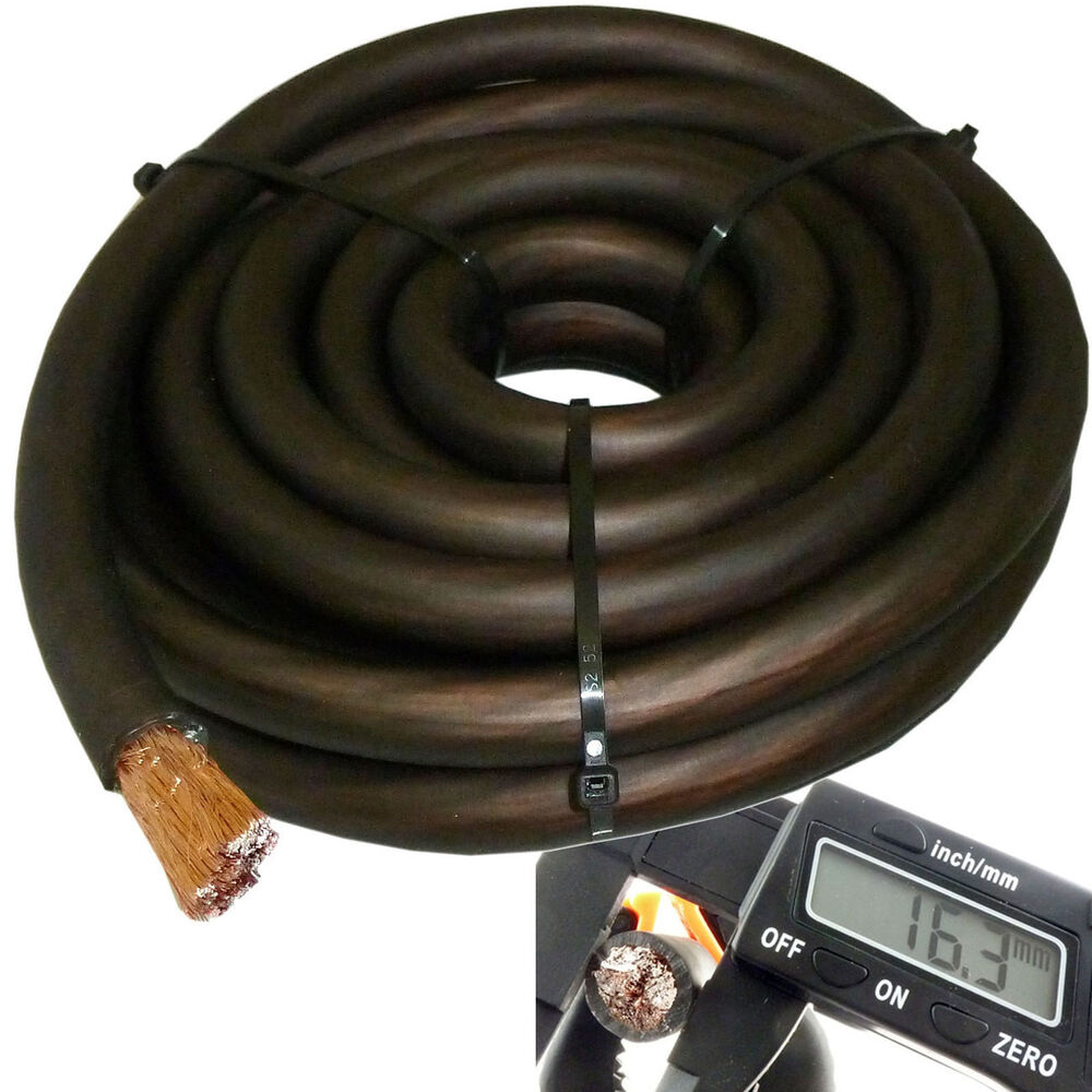 cablepro premium zero 0 awg gauge black 7 feet amp ground