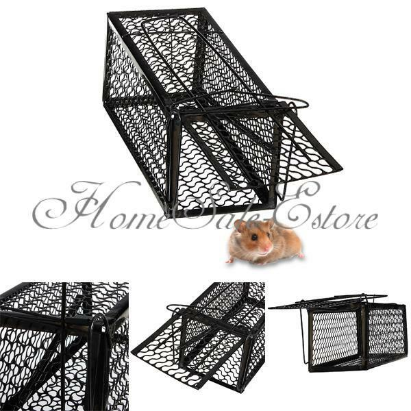 Mouse live trap humane cage rodent animal rat mice