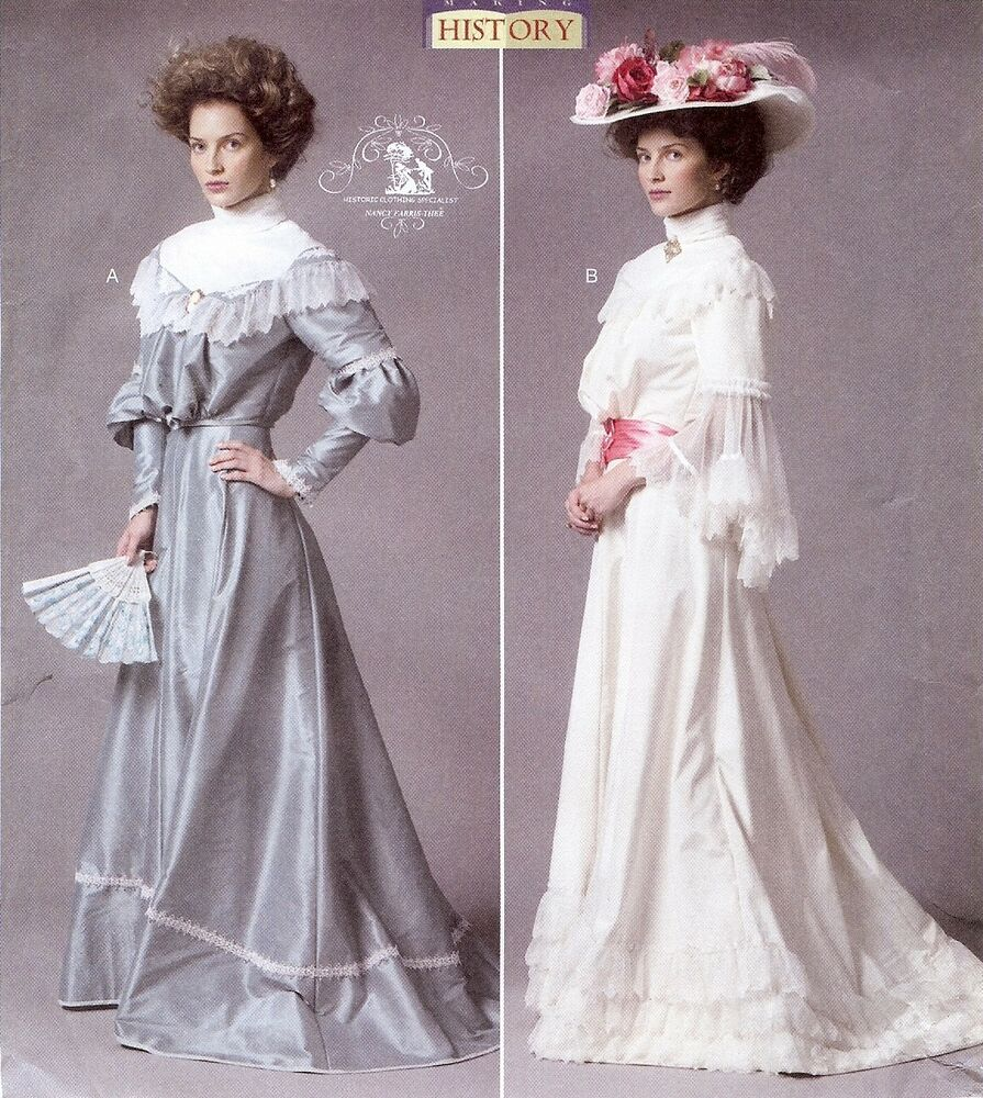 Pattern For Titanic Era Turn Of The Century Butterick 5970