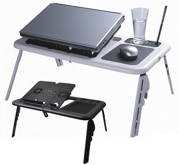 Laptop Lap Desk Foldable Table E Table Bed With Usb