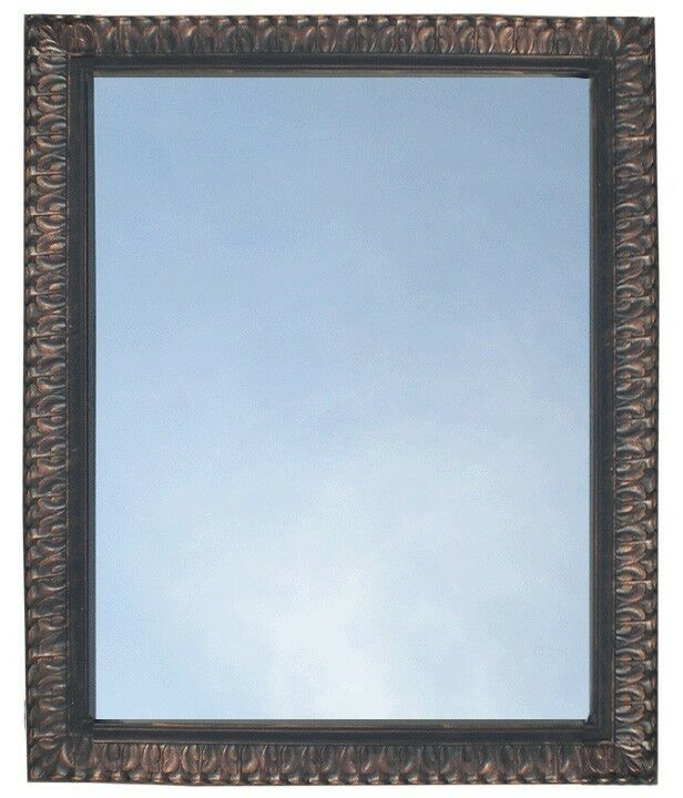 Bathroom Mirror Vanity Rectangule Framed Wall Mirror Oil Rubbed Bronze Ebay