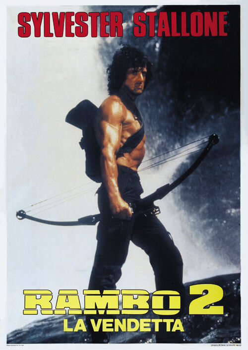 Rambo: First Blood Part II (1985) Sylvester Stallone movie ...