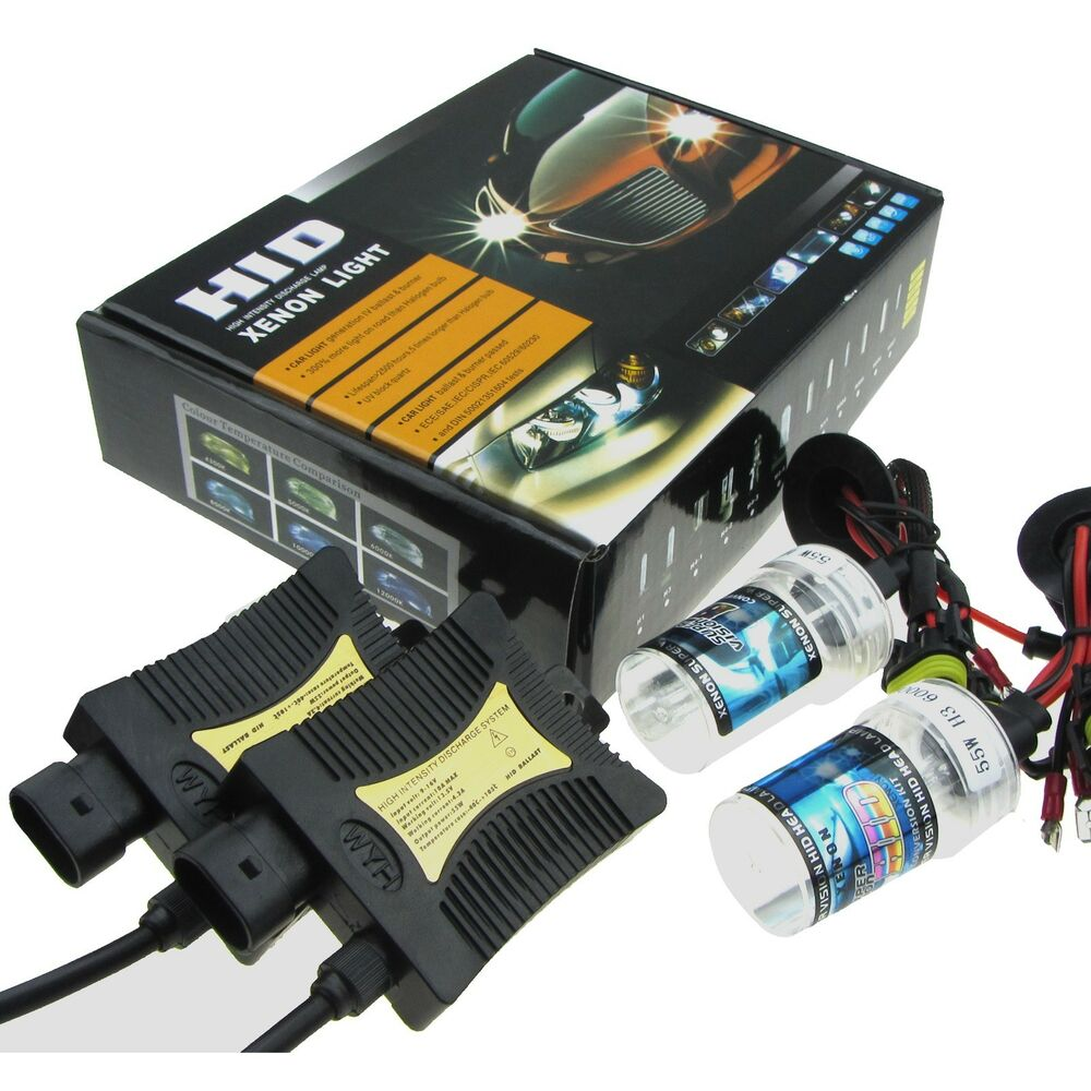 hid xenon led headlight conversion kit h1 h3 h4 h7 h10 9005 9006 880 881 9004 7 ebay. Black Bedroom Furniture Sets. Home Design Ideas
