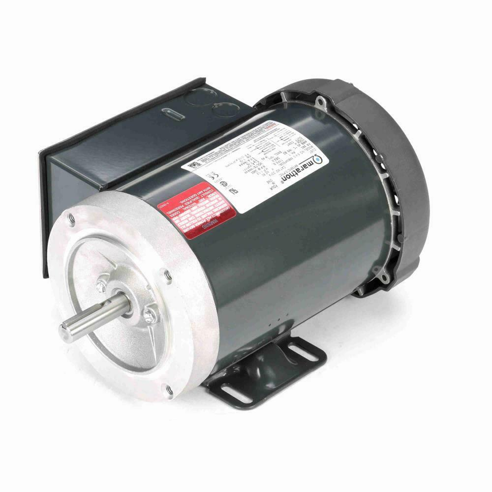 D314 1 1 2 hp 3600 rpm new marathon electric motor ebay for Half horsepower electric motor