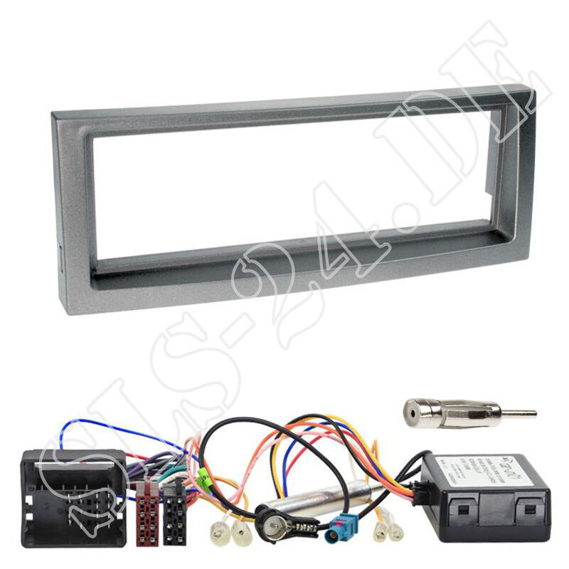 peugeot 407 ab04 din autoradio einbau blende quadlock can bus adapter interface ebay. Black Bedroom Furniture Sets. Home Design Ideas