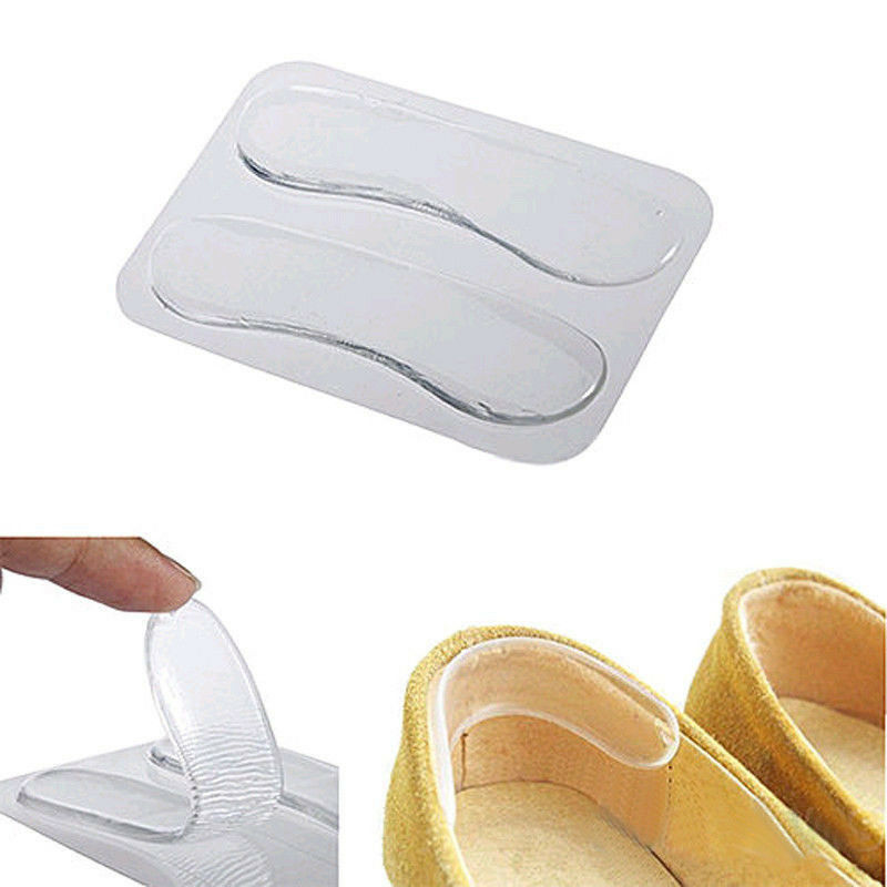 1pair silicone gel heel cushion protector foot care