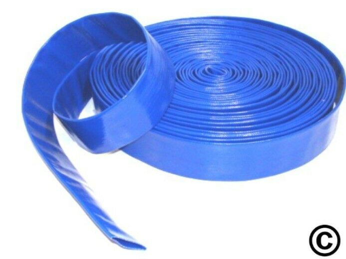 Layflat Pvc Water Delivery Hose Discharge Pipe Pump Lay