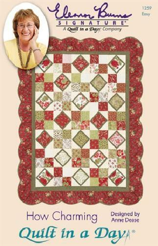 Quilt Patterns To Make In A Day : HOW CHARMING Pattern by Quilt in a Day, Eleanor Burns, 1259 Easy eBay