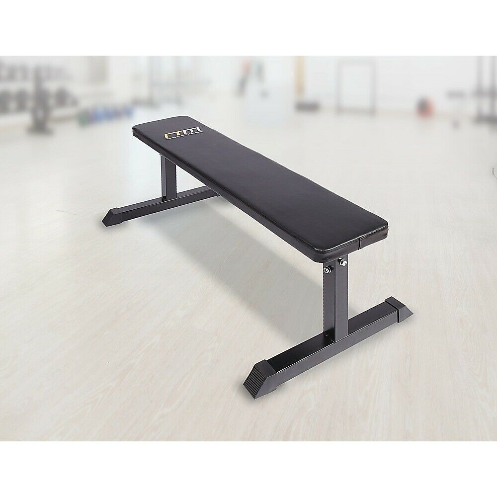 Fitness Flat Bench Home Gym Press Weights Weight Ebay