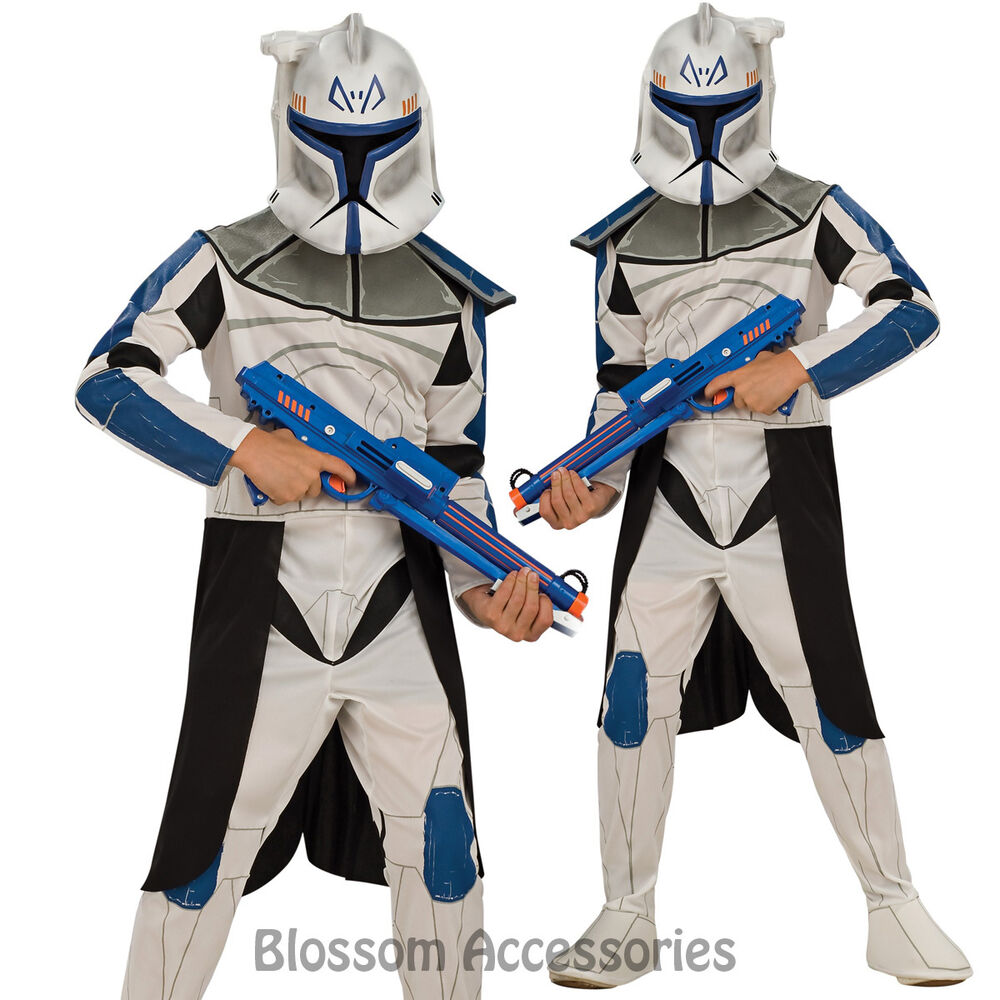 CK157 Star Wars Clone Trooper Captain Rex Child Boys Book ...