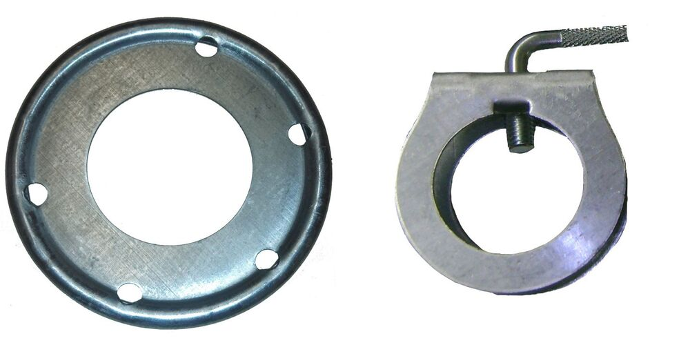 Rohn guy ring and clamp assembly for up to quot antenna