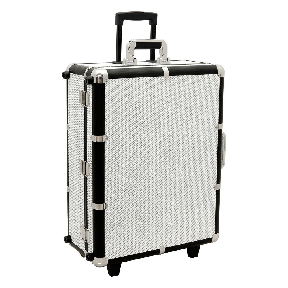 Professional Makeup Artist Station Cosmetic Rolling Case