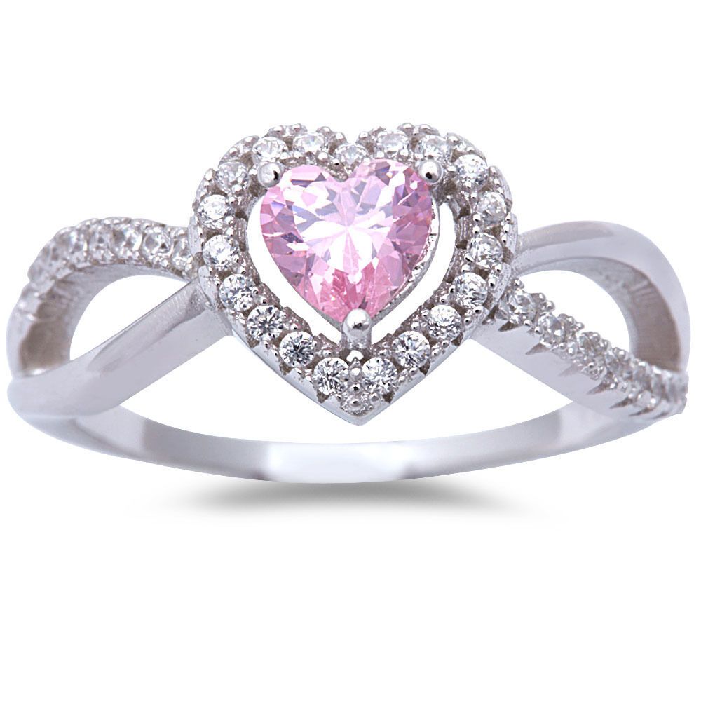 Pink Cz & White Cz Heart 925 Sterling Silver Ring Sizes 5. Mens Thin Wedding Rings. Christmas Engagement Rings. Shoulder Stone Rings. Tamucc Rings. Affordable Wedding Rings. Emo Engagement Rings. Veneer Rings. Bride Wedding Engagement Rings