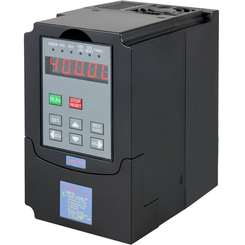 2 2kw 3hp 10a 220vac Single Phase Variable Frequency Drive Inverter Vsd Vfd Ebay