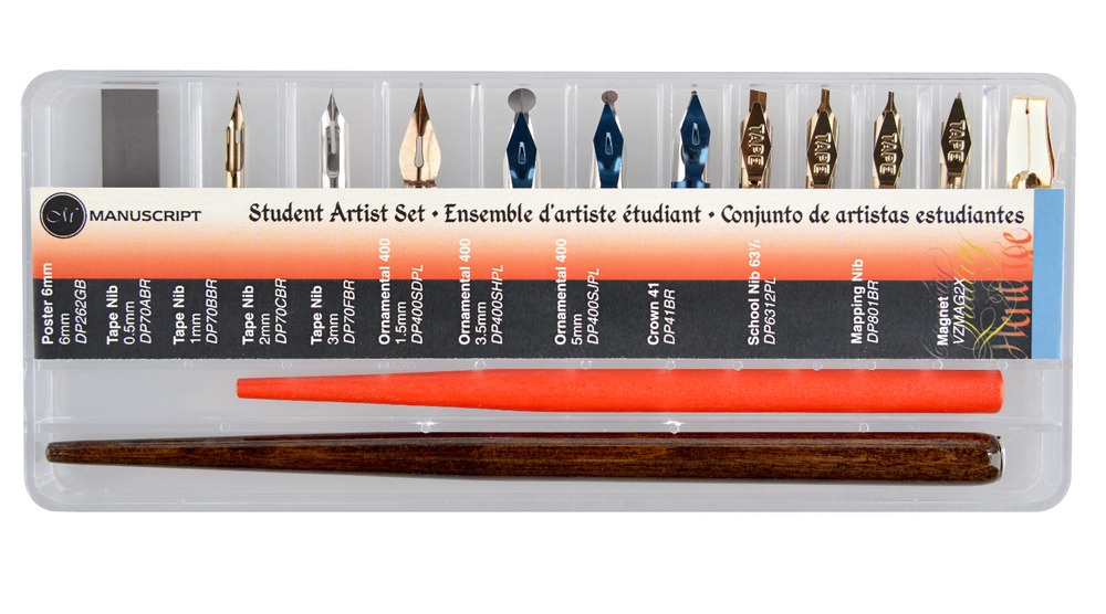 Manuscript student artist set dip pen holder calligraphy