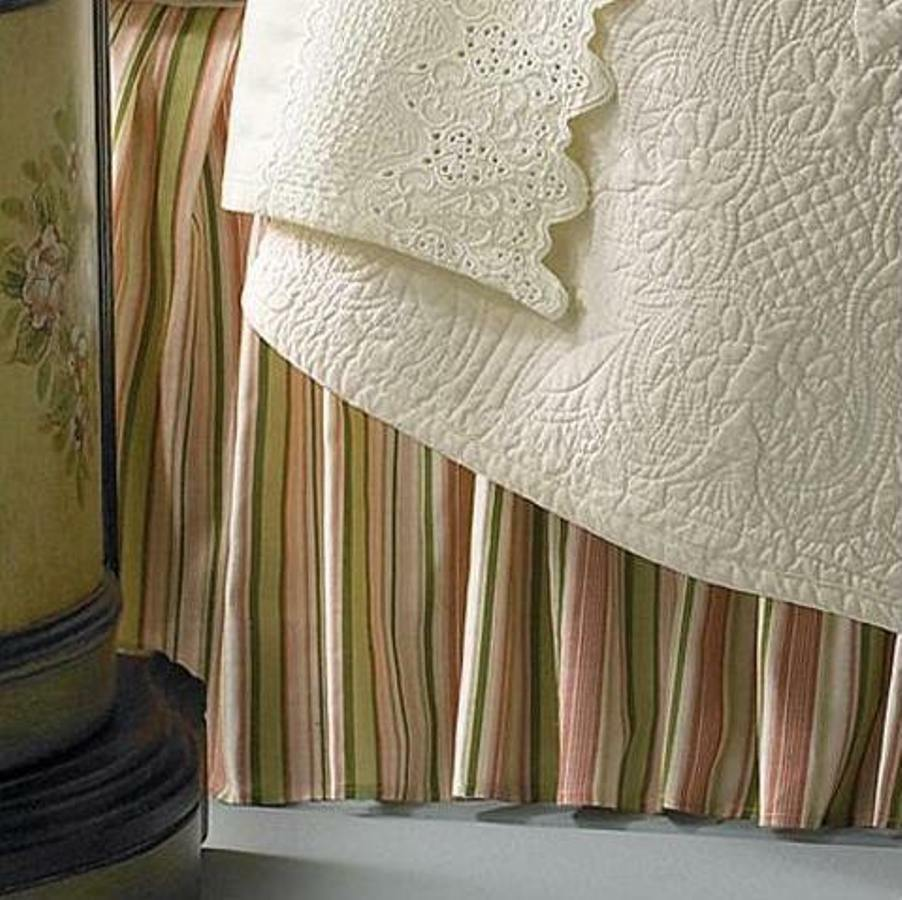 Bed Skirt Twin Green