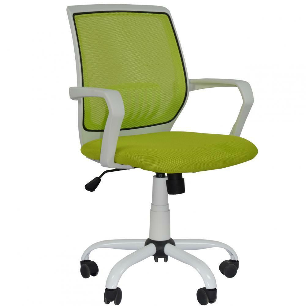 New Green Ergonomic Mesh Computer Office Desk Midback Task Chair Metal Base31