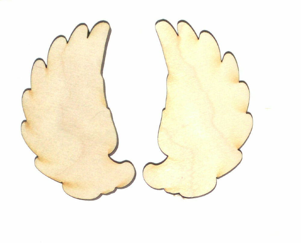 Wooden Angel Wings For Crafts