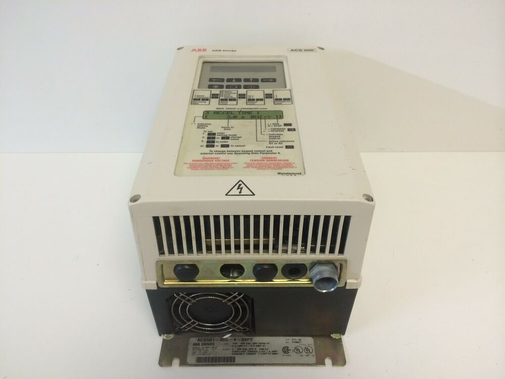 Guaranteed abb 5 7 5 hp variable frequency drive acs501 for Vfd for 7 5 hp motor