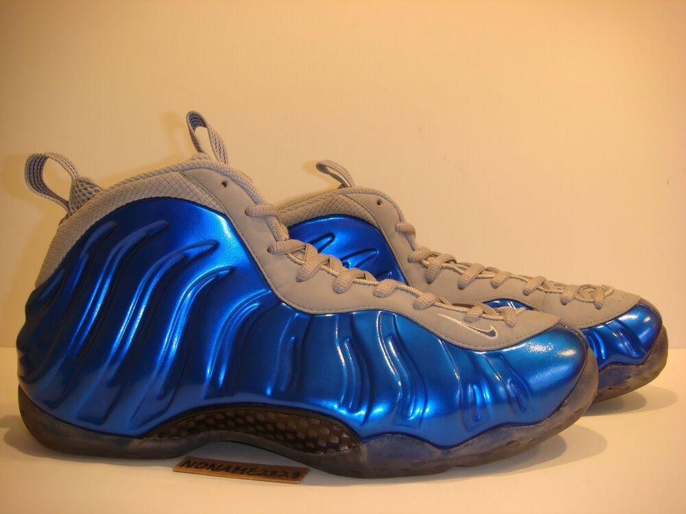 huge selection of 8fd75 3eecf Details about NIKE AIR FOAMPOSITE 1 SPORT ROYAL copper pewter pe supreme  oregon db galaxy 10.5