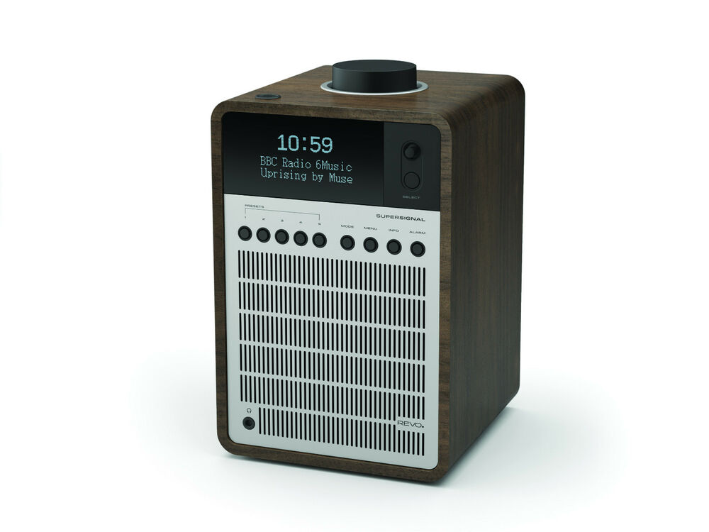 revo super signal dab radio dab fm radio alarm clock. Black Bedroom Furniture Sets. Home Design Ideas