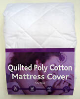super king size quilted mattress protector