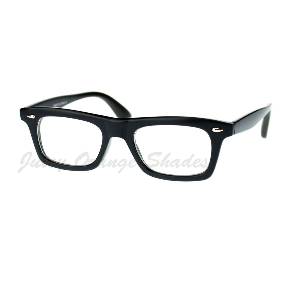 Retro 80's Black Frame Clear Lens Glasses. Newbee Fashion Classic Unisex Squared Fashion Clear Lens Eye Glasses & Sunglasses with Flash Lens. by Newbee Fashion Clear Lens. $ - $ $ 8 $ 18 99 Prime. FREE Shipping on eligible orders. Some colors are Prime eligible. out of .