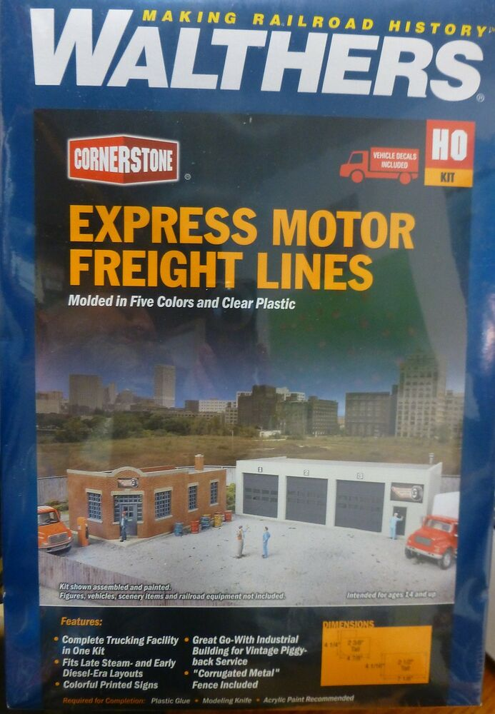Walthers Cornerstone Ho 933 4049 Express Motor Freight