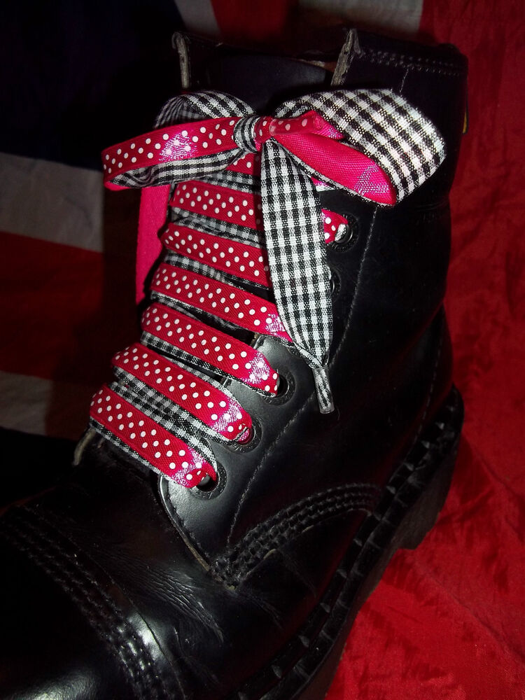 Dr Martens Ribbon Shoe Laces