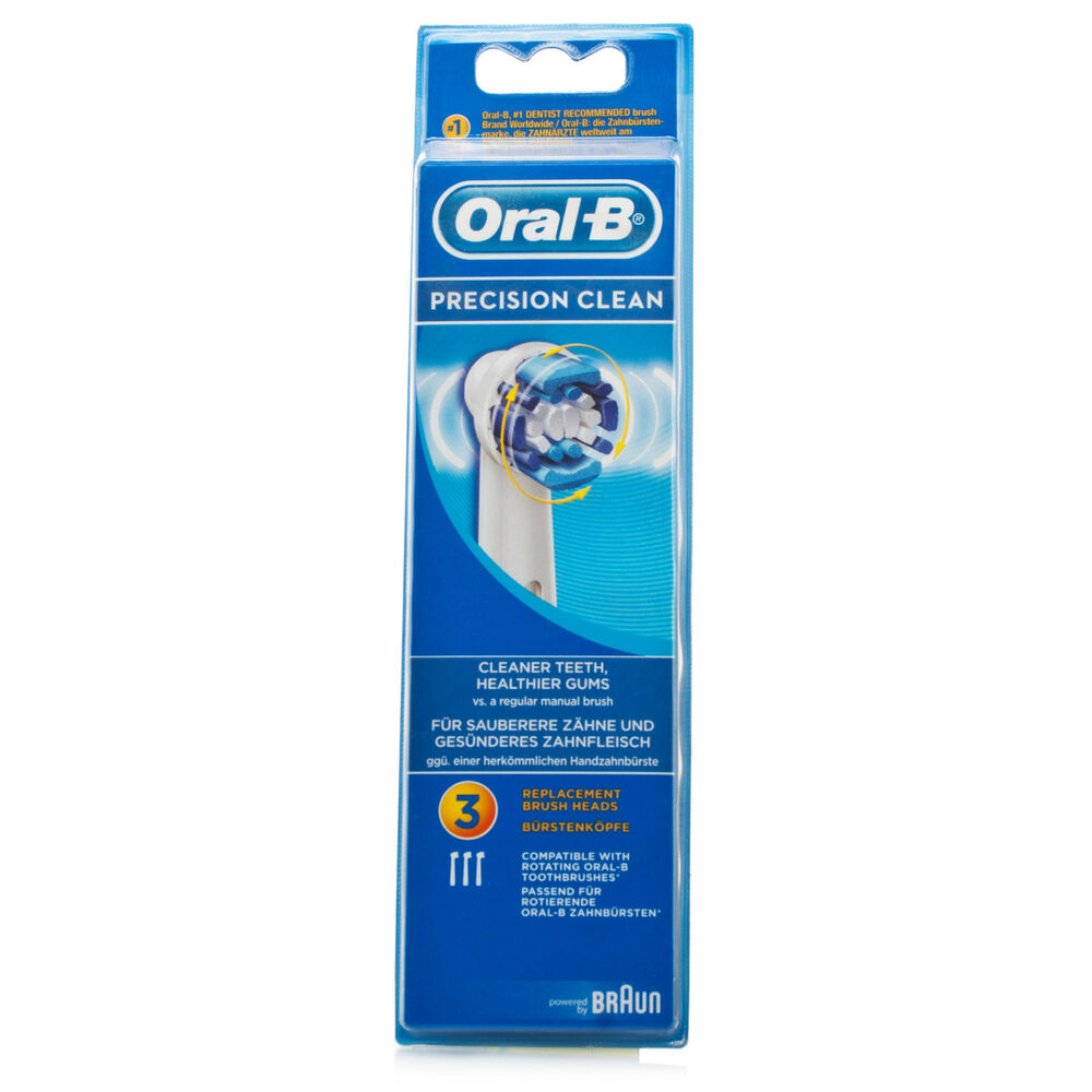 braun oral b precision clean toothbrush refill