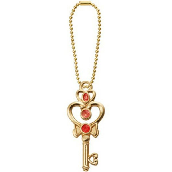 Sailor Moon Diecast Metal Charm KEY OF SPACE TIME Key