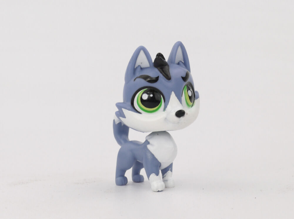 LITTLEST PET SHOP(1721)-MOOSE HATFEILD THE HUSKY PET #3659 ...