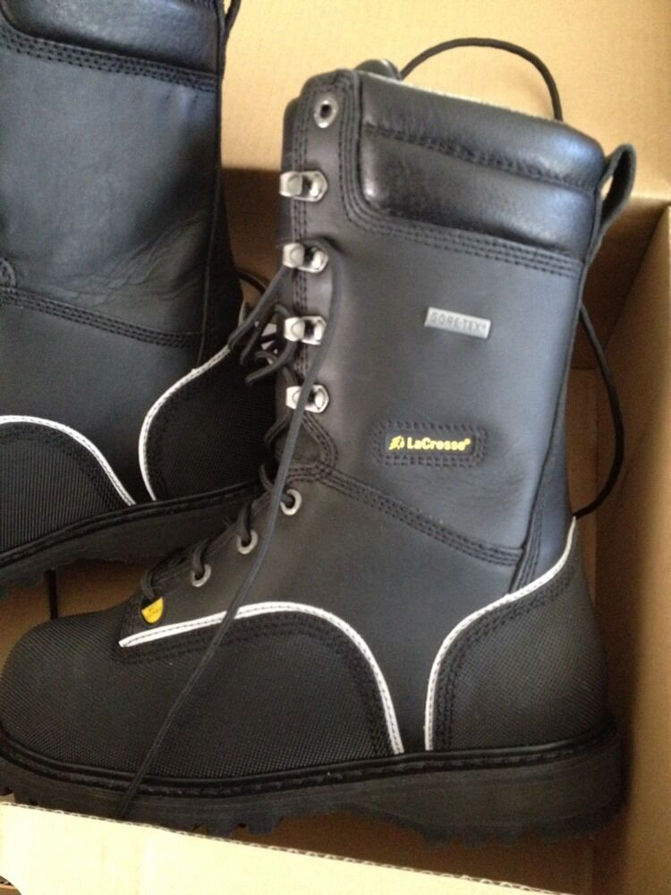 Lacrosse 00552090 Longwall 10 Inch Safety Toe Mining Boots