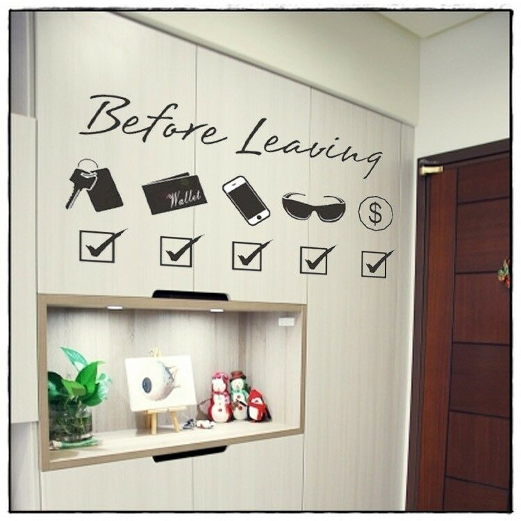 Wall Decors For Living Room: Wall Decor Art Vinyl Removable Living Room Hallway Decal