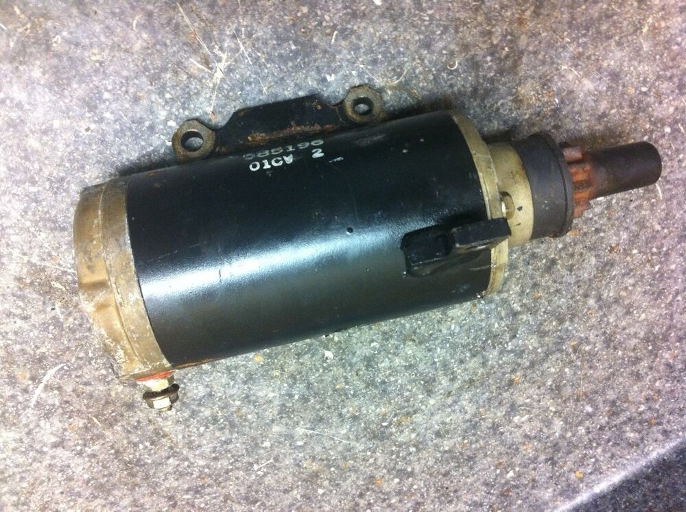 Clean Used Johnson Evinrude 1996 115 Hp Outboard Starter