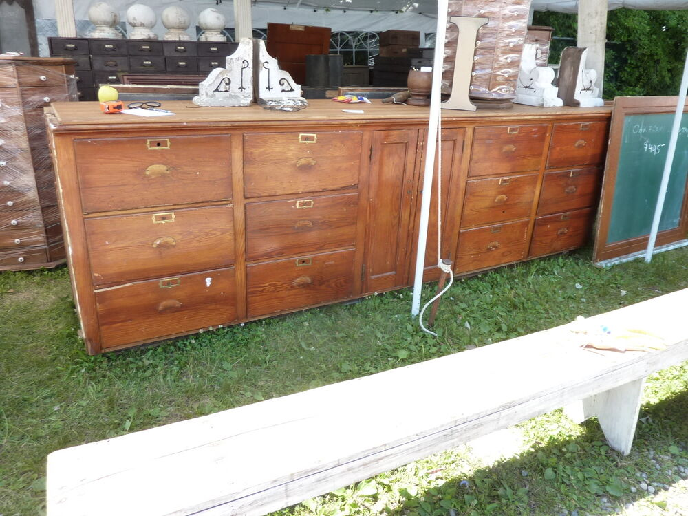 C1910-20 BUILT In PANTRY Cabinet COUNTER Multi Drawer