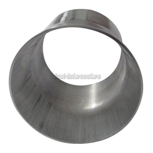 Cxracing mm thick quot long weld on aluminum reducer pipe