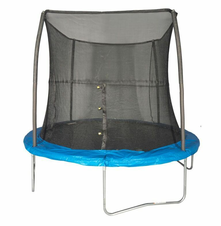 Kidwise Jumpfree 15 Ft Trampoline And Safety Enclosure: JumpKing 8 Foot Outdoor Trampoline And Safety Net