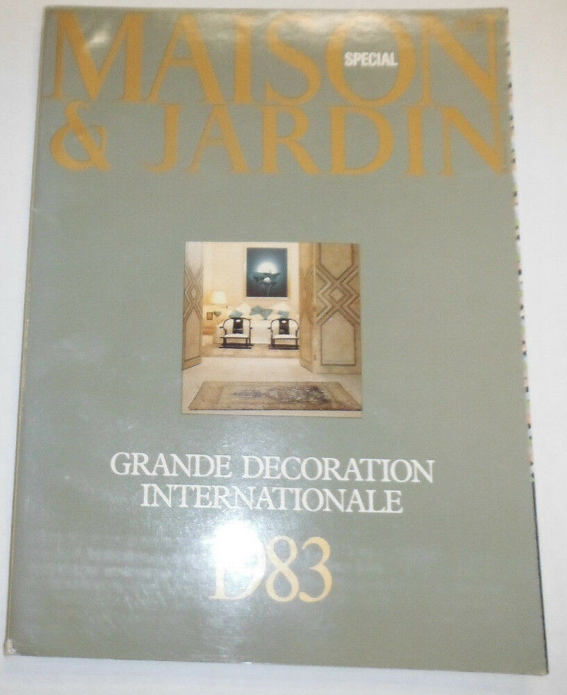 Maison & Jardin French Magazine Grand Decoration 1983 Cover #2 ...