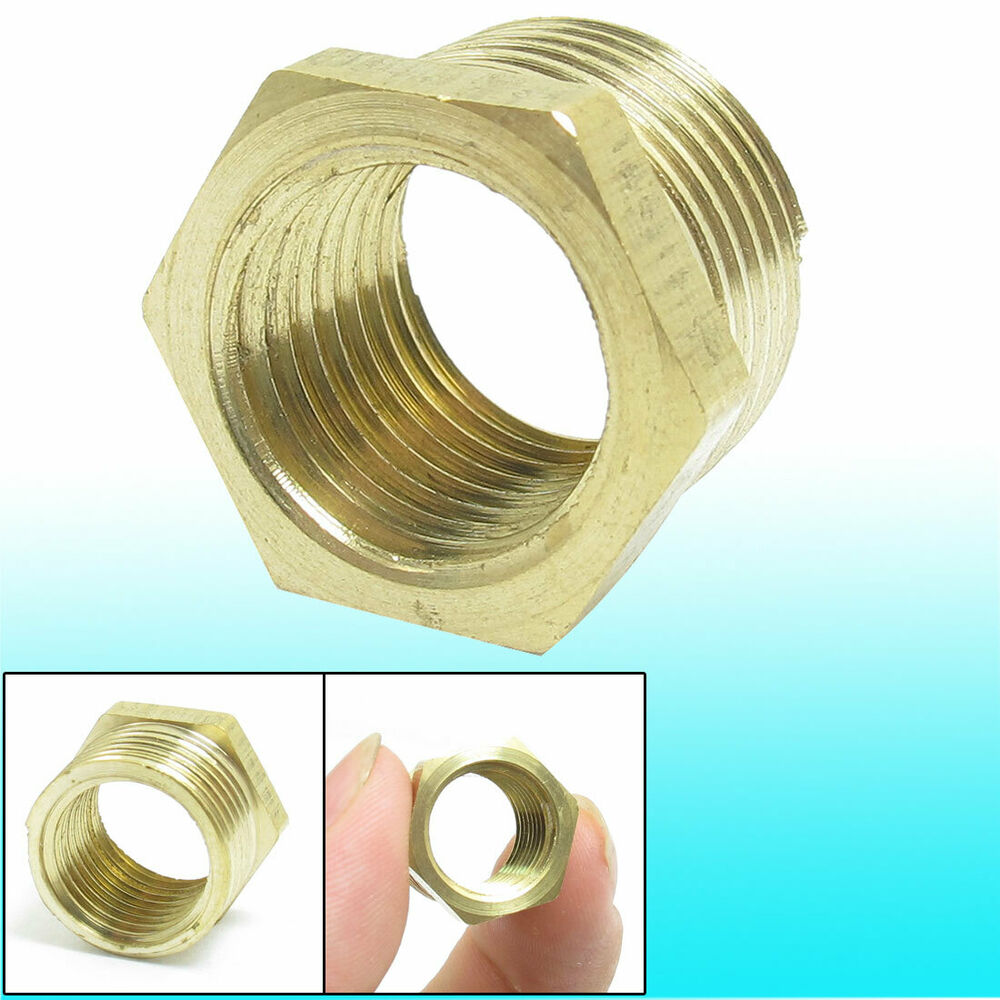 Brass quot pt thread male to female fittings hose