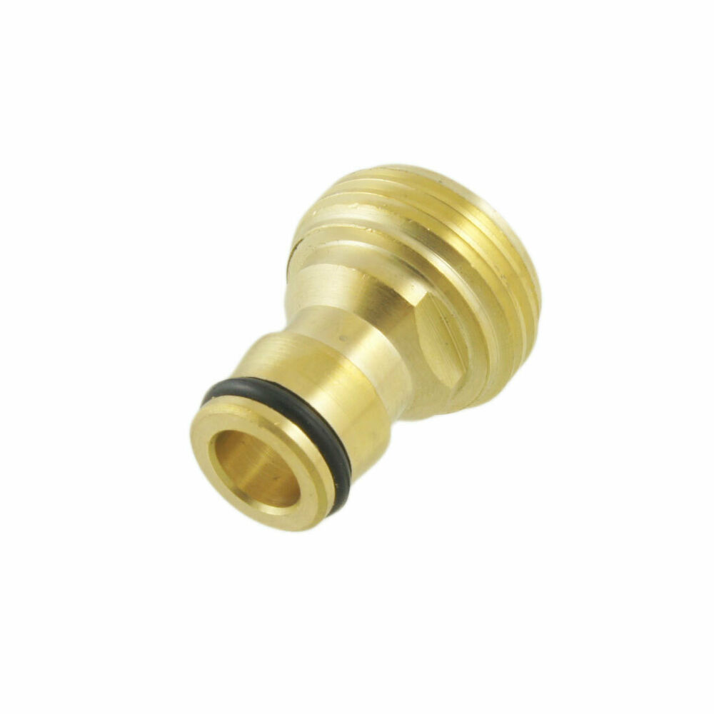 Solid brass hose quick connect npt quot male threaded tap