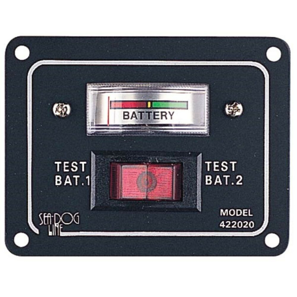 battery test switch panel ebay. Black Bedroom Furniture Sets. Home Design Ideas