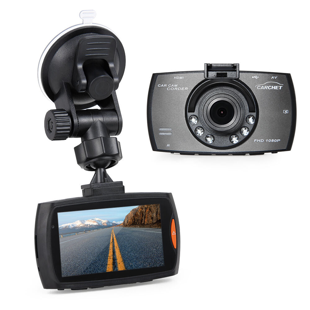 Full HD 1080P Vehicle Car Dashboard DVR Cam Camera Video Recorder 2.7