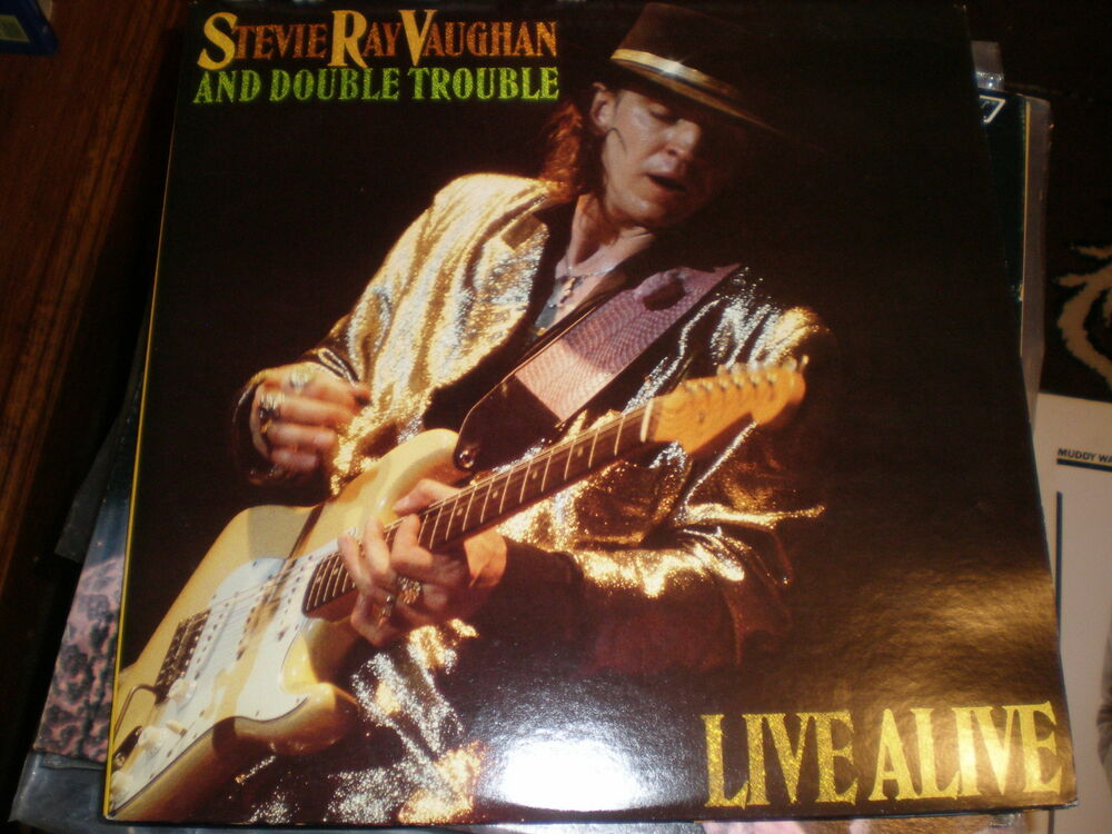 Stevie Ray Vaughan Double Trouble Lp Live Alive Ebay