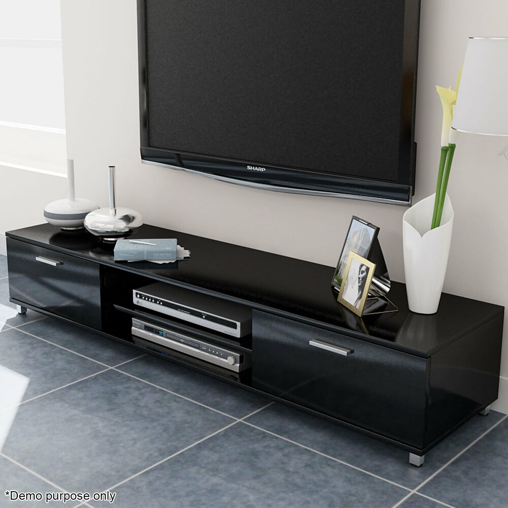 modern high gloss lacquer tv cabinet unit stand lowboard. Black Bedroom Furniture Sets. Home Design Ideas