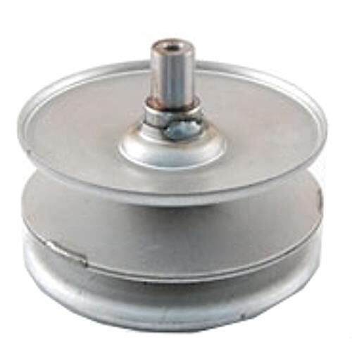 Yard Machine Pulleys : Yard machines riding lawn mower pulley assembly replacement variable