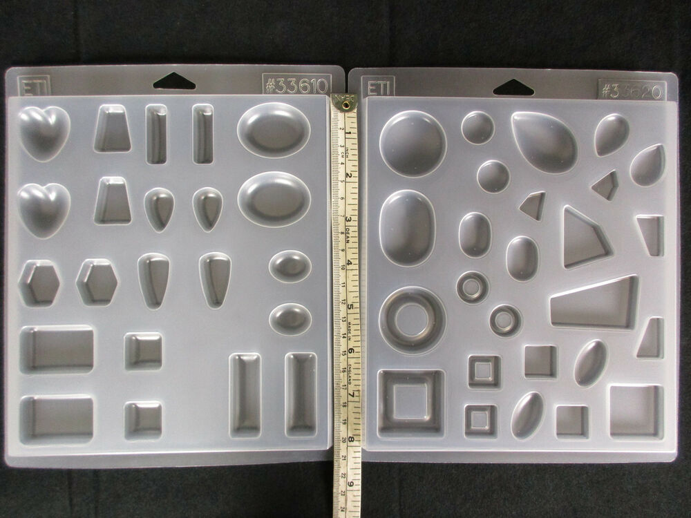 Resin Mold Jewelry Molds Choice of Pairs or Unusual Shapes ...