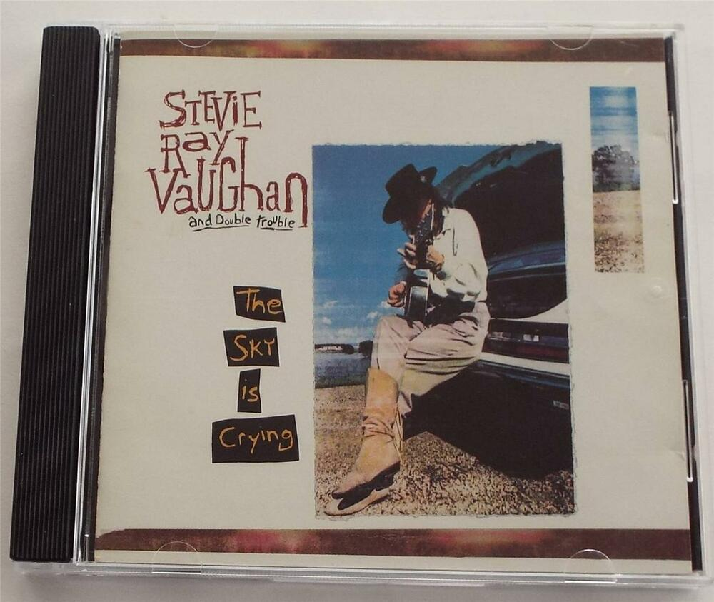 the sky is crying stevie ray vaughan double trouble cd 74644739022 ebay. Black Bedroom Furniture Sets. Home Design Ideas