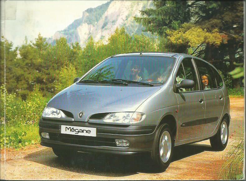 renault megane scenic 1 betriebsanleitung 1997 bedienungsanleitung handbuch ba ebay. Black Bedroom Furniture Sets. Home Design Ideas