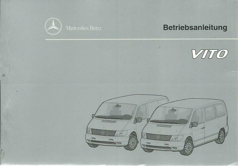 mercedes vito betriebsanleitung 1996 bedienungsanleitung. Black Bedroom Furniture Sets. Home Design Ideas